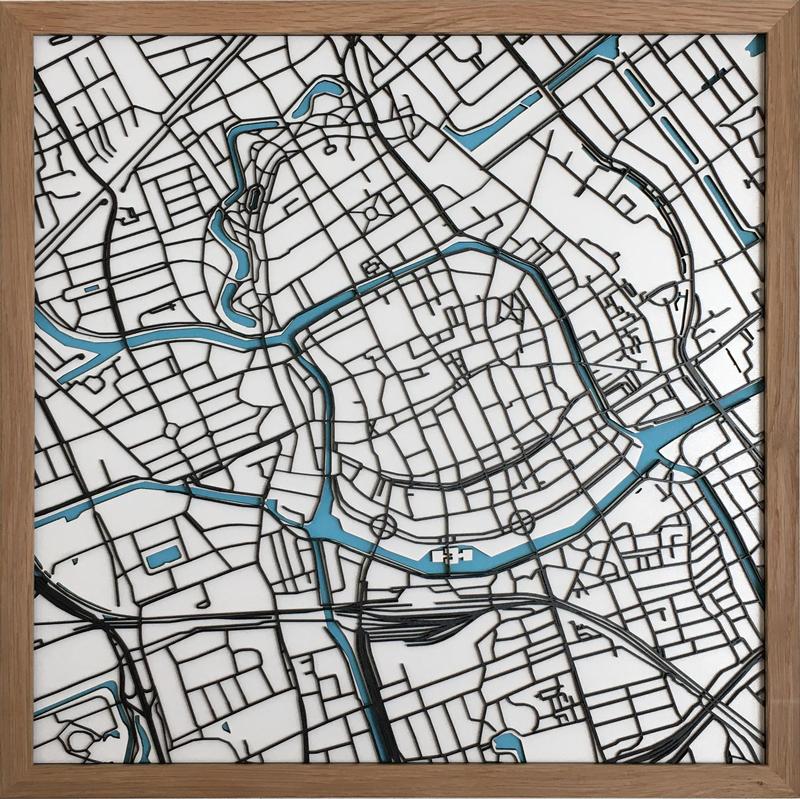 Map-art lasergesneden